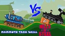 Hills of steel hack Mammoth tank vs Legion boss level Games bii