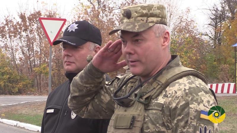 В районі проведення операції Об'єднаних сил продовжуються заходи з оновлення блокпостів