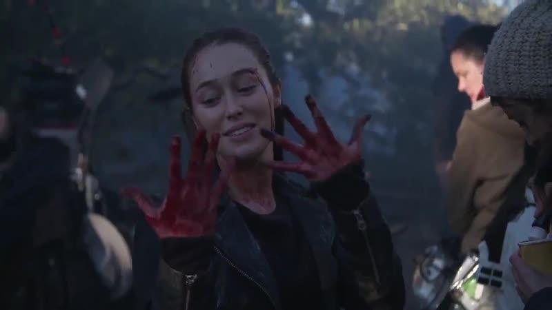 «Бойтесь ходячих мертвецов» — со съёмок 5 сезона