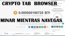 Crypto tab minadora gratuita y mas noticias de minadoras sep 2018