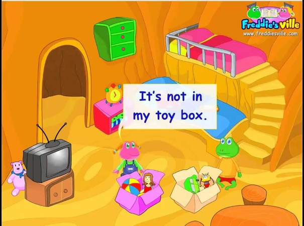 1st grade - Toys Where is my Teddy? dialogue