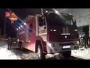 Видео пожара на заводе в Нижнем Новгороде который разыгрался на площади в 3600 кв метров
