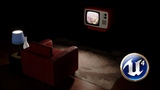 TV Glow Effect in Unreal Engine 4.19