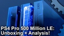 PS4 Pro 500 Million Limited Edition Unboxing Plus Are New Pros Quieter Than Launch Consoles