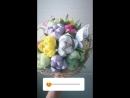 Букет тюльпанов из конфет 15шт