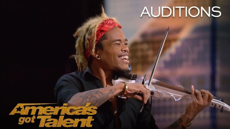 Brian King Joseph Electric Violinist Stuns With Talent America's Got Talent 2018