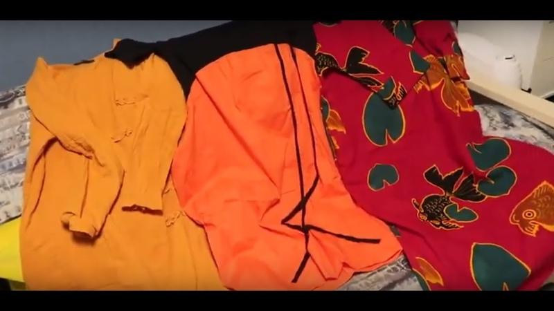 Платья и обувь из Китая Торопим весну посылка Кумон