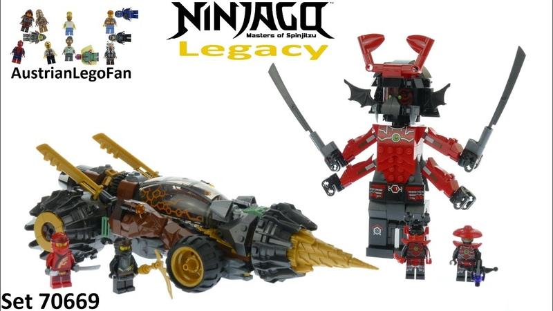 Lego Ninjago Legacy 70669 Cole´s Earth Driller - Lego 70669 Speed Build