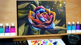 Colorful Flower - A Step by Step Painting with Acrylics (Ryan O'Rourke)