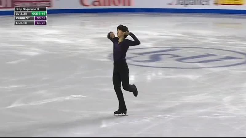 Cha Jun-hwan - Grand Prix Final 2018 - FS