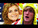 Logan Paul Admits He's Uninformed After Fact Checking Kaitlin Bennett Live