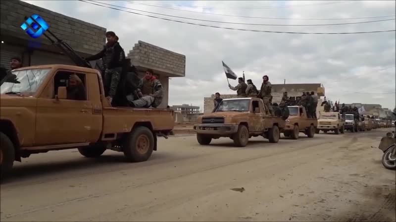 Συρία 4 1 2019 Συγκρούσεις Ισλαμιστών και Φιλοτούρκων Σύριων στο Ιντλίμπ