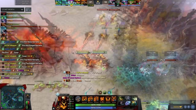 The Mbappé of Dota 2 is back to one of his best Heroes. Miracle- UNREAL Shadow F