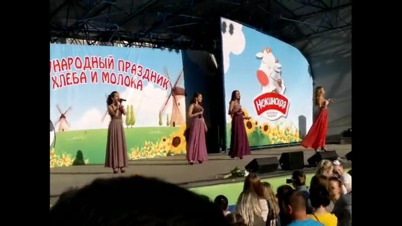 Блестящие - Пальмы парами, Милый мой, Долго тебя ждала (26.05.2013, Праздник хлеба и молока)