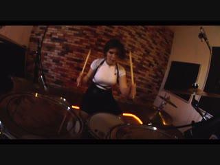 GDFR ft. Sage The Gemini and Lookas Flo Rida - Drum cover - Мария Кузнецова (GORODKOVDRUM)