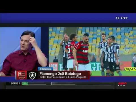 SEGUE O LÍDER! Flamengo 2x0 Botafogo PÓS JOGO ESPN com Mauro Cezar (Completo)