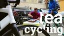 Tea cycling. Moychay Ufa