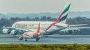 AIRBUS A320 OVERTAKES an AIRBUS A380 in a TRAFFIC JAM and DEPARTS first 4K