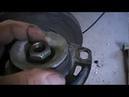 Audi A6 C4 Ремонт и замена передних амортизаторов