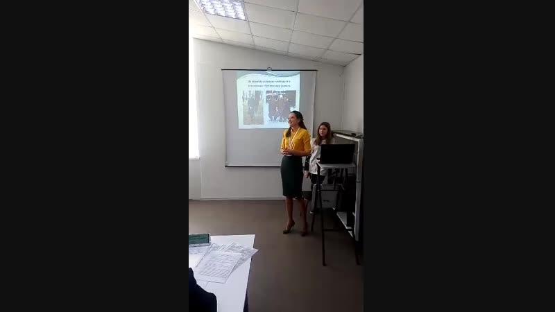 Моё выступление на конкурсе Молодой предприниматель России 2018