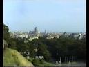 Spacer po Gdańsku Wyspa Spichrzów panorama miasta rok 1988