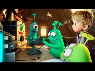Пришельцы в доме — Русский трейлер (2018) / Германия / Дания / Люксембург / мультфильм / мультик / мульт / Luis and Aliens