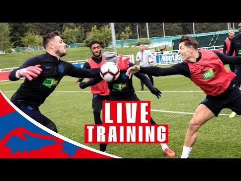 Craig Mitch Takes Your Questions as England Train for Croatia   Croatia v England
