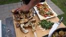 Приготовление вкусной рыбы карп на мангале с овощным гарниром Рецепт от Жоржа