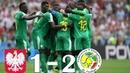 Poland vs Senegal 1-2 - All Goals & Highlights - 6/19/2018