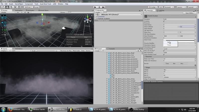 Mirza Unity VFX Faking Volumetric Fog Particle System Tutorial