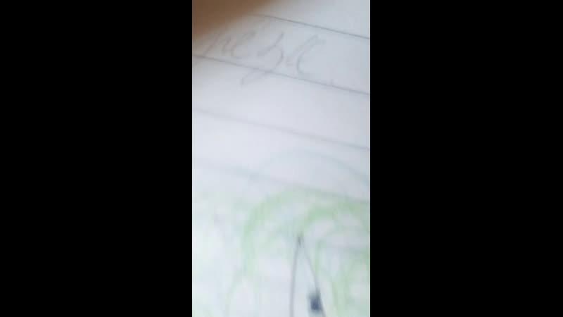 Live: рисунки в скечбуке