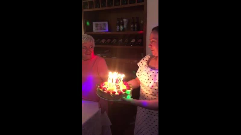 Юбилей Мамы 70 лет