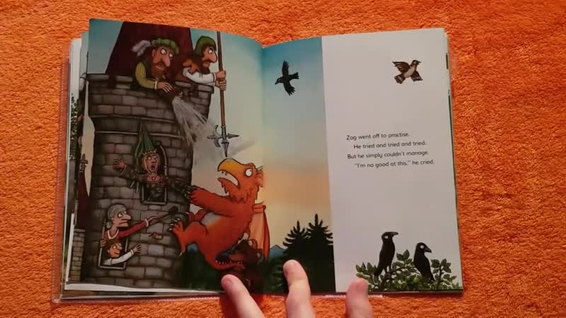 Zog by Julia Donaldson, Rhyming Story for Children, Tale about Dragon, Read Aloud Book