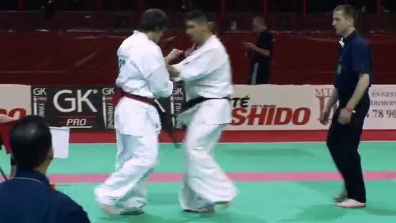 Ieromenko Vs Gogonel Kyokushin European Championship