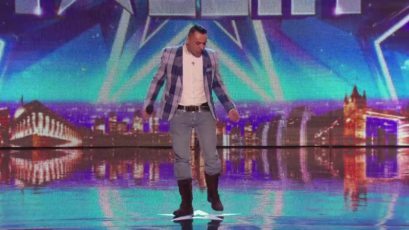 David Walliamss Golden Buzzer act Christian Spridon SEX BOMB - Britains Got Talent 2014