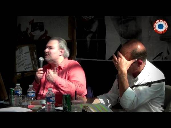 Forces armées débat avec Etienne Chouard et Laurent Henninger