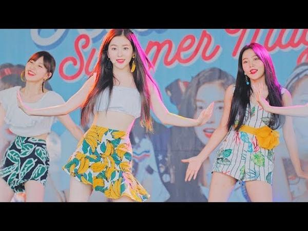 레드벨벳(Red Velvet) - Power Up@180812 캐리비안베이 [4k Fancam직캠
