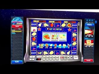 Большой выигрыш в автомат Клубнички (Фруит Коктейль) в казино вулкан