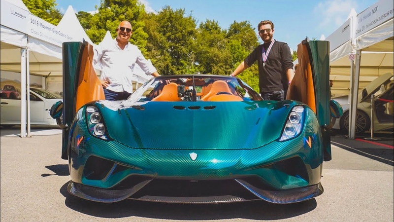 NEW Koenigsegg Regera FIRST DRIVE In The £1.5M Hypercar!
