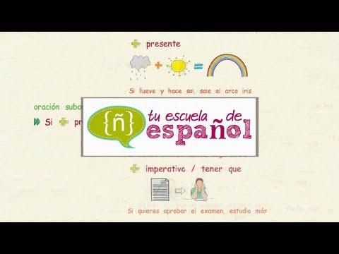 Aprender español: Clase en directo sobre las ORACIONES CONDICIONALES (nivel avanzado)