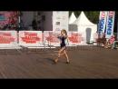 Прекрасное выступление гимнастки на фестивале Турции