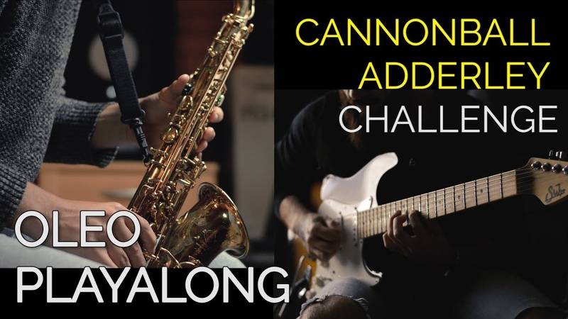 Cannonball Adderley Challenge - Oleo Playalong (Just the two of us...)