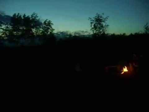 Озеро Вуокса. Луна на рассвете. 1.07.2007