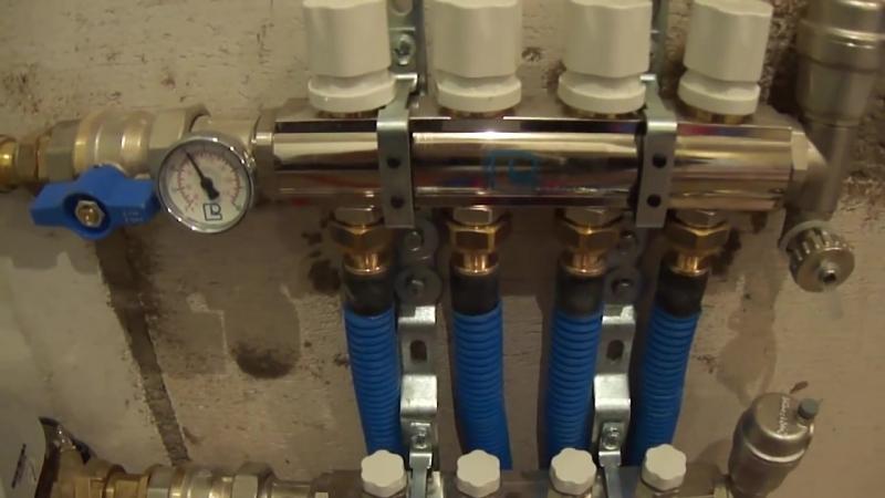 Отопление на трубах из сшитого полиэтилена Rehau и полезные советы.