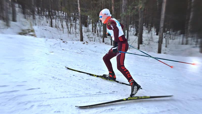 Лыжные гонки - Областные соревнования в г.Златоуст среди Юношей 2003-2004 г.р. (09.12.2018)