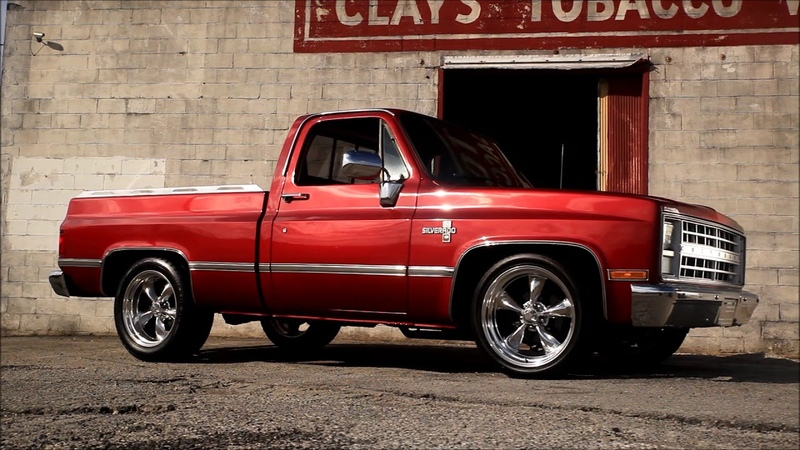 1985 Slammed Squarebody Limited Edition C10 Hot Rat Street Rod FOR SALE!