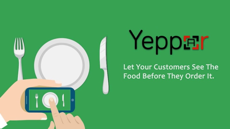 Augmented Reality For Restaurant | Augmented Menu Cards | Yeppar