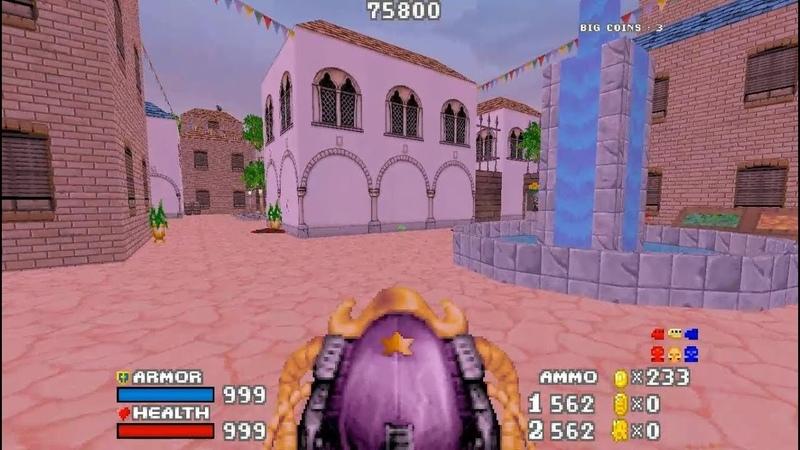 DOOM MOD GAME THE GOLDEN SOULS 2 SUPER MARIO WORLD 3D REMAKE By Batandy MAP 13