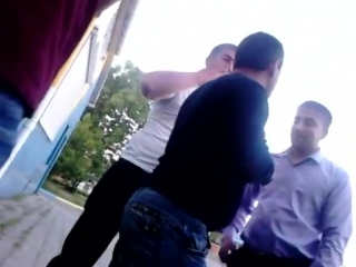 Разборка,азербайджанец против армянина