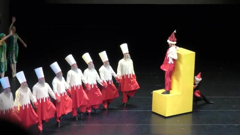 29.07.2018 Mariinsky, The Little Humpbacked Horse Конёк-горбунок, the Tsar comes Царь приходит